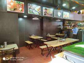 Running Restaurant with full setup with good interior