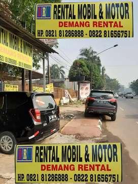 Rental Mobil Lepas Kunci  Terios Xpander Honda Jazz Lokasi Demang