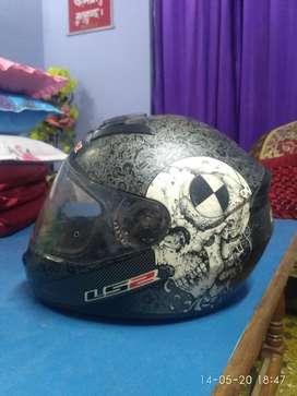 LS 2 Helmet of good condition.