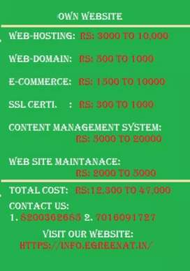 Make your own advanced website