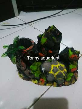 hiasan aquarium kura2