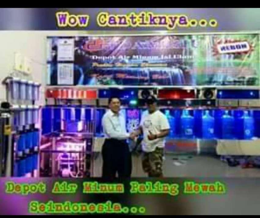Khusus pemasangan depot air minum isi ulang dari stainlees 0