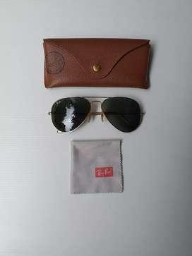 Sunglasses Ray Ban RB3025 Aviator large metal L0205 unisex original