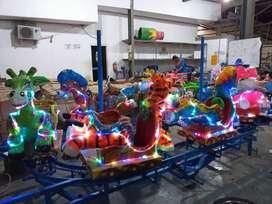 odong kereta panggung animal mainan labirin run bundar bulat murah TWB