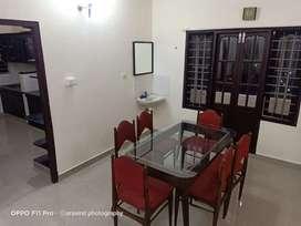 Furnished 3bhk apartment @ panampillynagar