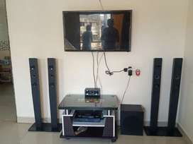 All tv set with home theater