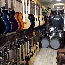 All Branded Guitars, Ukele, Violin, Harmonium,Tabla,Sitar, Keyboard