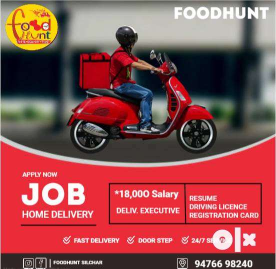 FOODHUNT DELIVERY EXECUTIVE 0