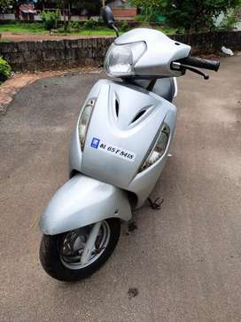 Suzuki Access 125, Silver colour