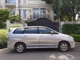 Dijual cash nego. Innova G luxury MT manual bensin 2014 akhir pajk pjg