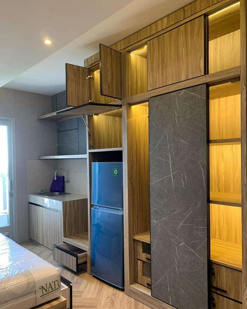 Disewakan studio interior minimalis dan modern di Green Bay Pluit 0