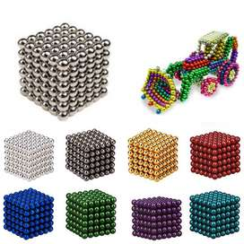 Color Magnetic Ball / Bola Magnet Warna Warni 3 mm 216 pcs Buckyballs