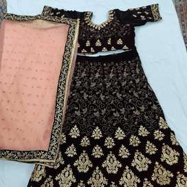 Lehnga choli with duppata