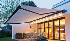 folding arm awning shade for outdoor house porch,retractable parda