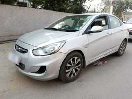 Dl number brand new verna Fludic push button start automatic