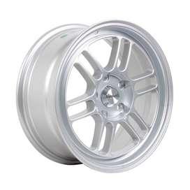 Bisa Kredit Velg HSR-Kumamoto-60423-R16X7-H5X114,3-ET40-Silver