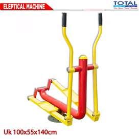 Sepeda elliptical machine fitnes outdoor murah alat fitnes taman