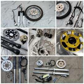 D spares///Yamaha RX100 Rx135 RXZ spares available