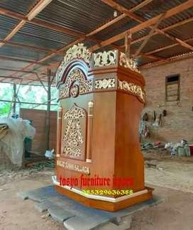 Mimbar masjid podium kecil berkualitas