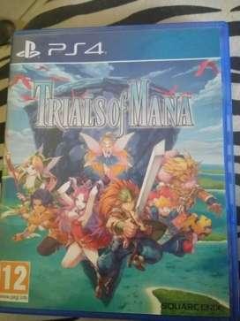 BD kaset PS4 Trials of Mana