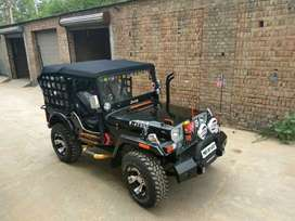 The hunter jeep  modified
