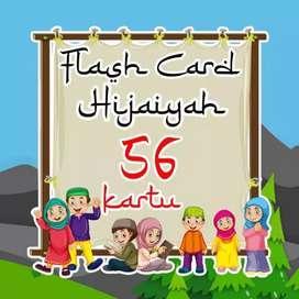 Flash card hijaiyah isi 56 pcs
