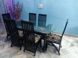 Dinning set (Dinner table and chairs)