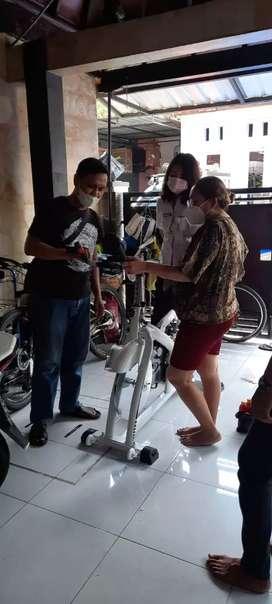 Promo Sepeda Statis Spinning Bike Shockbreaker Terbaru Kuat