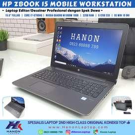 HP Zbook 15 G3 Mobile Workstation (Core i7 / Nvidia Quadro M1000M / 32