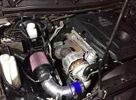 """Pipe Open Filter All New Pajero Dakar + Filter K&N 3"""""""