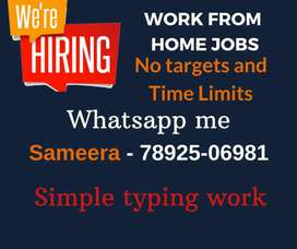 Easy work from home jobs. Simple notepad typing jobs. Apply Now.
