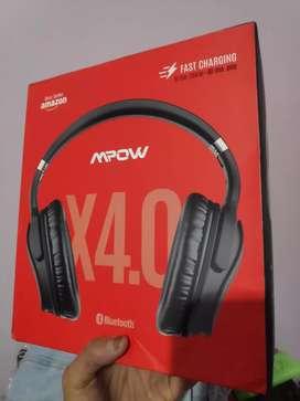 MPOW H5 Bluetooth Headset ANC Over Ear Mic BH143CB