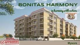 Bonitas Harmony Luxury apartments in Vijaynagar 2nd stage