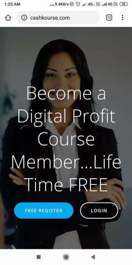 Earning Money Cash Course For FREE