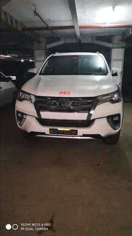 Toyota fortuner 2018 model diesel car