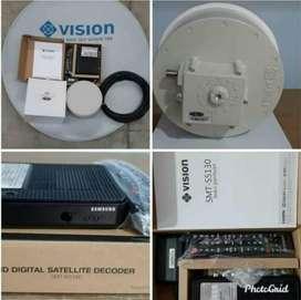 Parabola Indovision mnc vision terbaik no 1