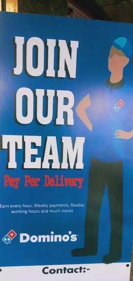 Delivery boy requirements