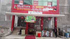 Restaurant For Rent, Running Hotel, Furnished, PWD Road,