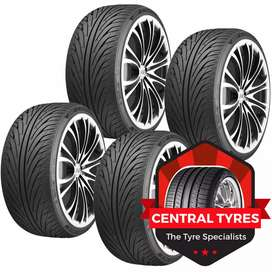 All imported car tyre Rs 1850