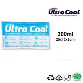 Ice Pack Ultra Cool dalam kemasan sachet 300ml
