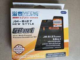 Obeng set jakemy JM-8127 53 in 1