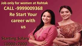 JOB ONLY FOR FEMALE