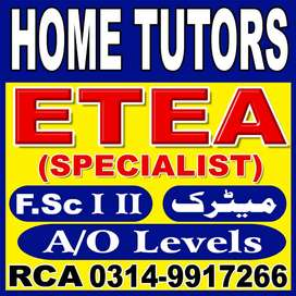peshwar home tuition services RCA