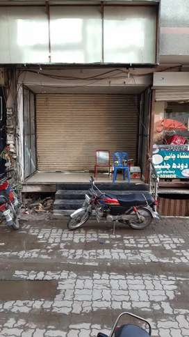 Ground +besment shop is available for Rent in f-10 markaz Islamabad