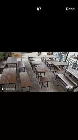 Restaurant furniture is on sale