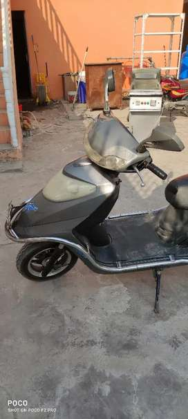 Hibrid Scooter Electric+Engine