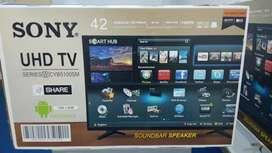 ANDROID 4K SONY UHD SMART LED TV SLIM