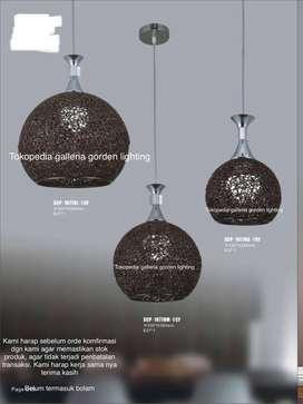 lampu hias gantung dekorasi meja makan minimalis 10778/1cf 18cm