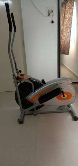 Propel dual action cross trainer