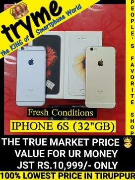TRYME 32Gb (IPHONE 6S) fresh Conditions